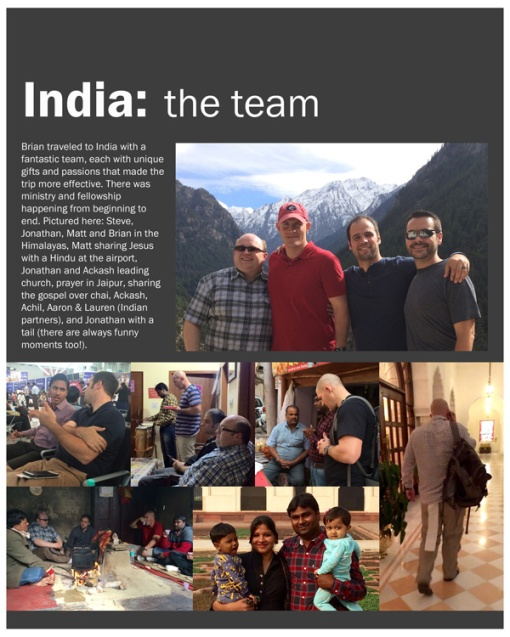 India- the team web